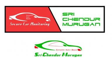 Sri Chendur Murugan Car Repair Logo Karur